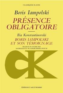 Présence obligatoire - BorisIampolski