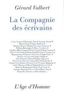 La compagnie des écrivains - GérardValbert