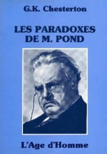 Les Paradoxes de monsieur Pond - Gilbert Keith Chesterton