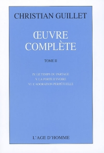 Oeuvre complète | Volume 2 - Christian Guillet