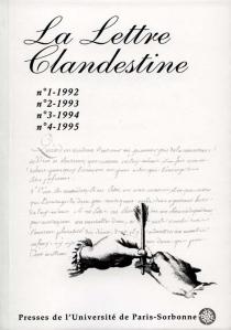 Lettre clandestine (La), n° 1 à 4 -