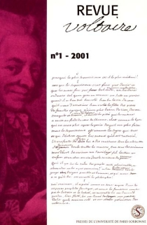 Revue Voltaire, n° 1 (2001) -