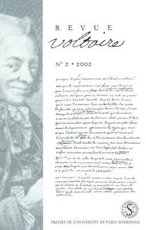 Revue Voltaire, n° 2 (2002) -