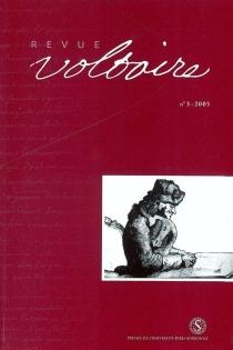 Revue Voltaire, n° 3 -
