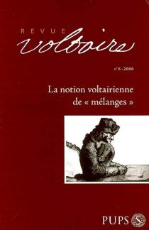 Revue Voltaire, n° 6 -