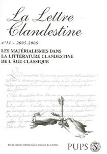 Lettre clandestine (La), n° 14 -