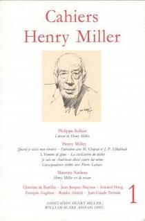 Cahiers Henry Miller, n° 1 -