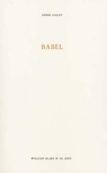 Babel - AndréGallet