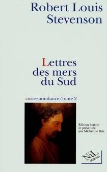 Correspondance - Robert LouisStevenson