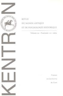 Kentron, n° 1-2 (2004) -