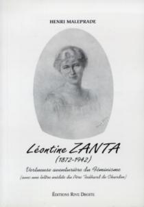 Léontine Zanta (1872-1942) : vertueuse aventurière du féminisme - HenriMaleprade