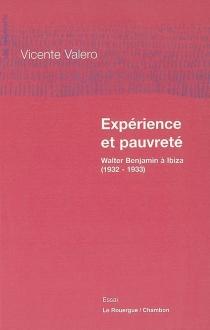 Expérience et pauvreté : Walter Benjamin à Ibiza (1932-1933) - VicenteValero