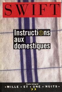 Instructions aux domestiques - JonathanSwift
