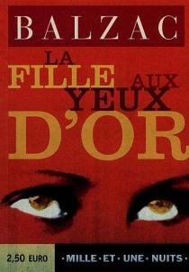 La fille aux yeux d'or - Honoré deBalzac
