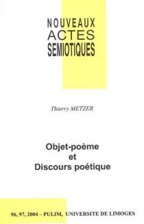 Nouveaux actes sémiotiques, n° 96-97 - ThierryMetzer