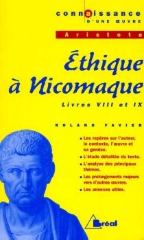 Ethique à Nicomaque (livres VIII et IX), d'Aristote - RolandFavier