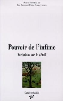 Pouvoir de l'infime : variations sur le détail : pour Raymond Mahieu -