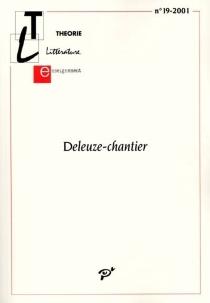 Théorie, littérature, enseignement, n° 19 -