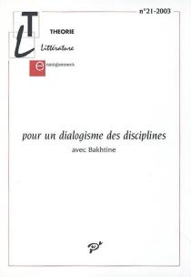 Théorie, littérature, enseignement, n° 21 -