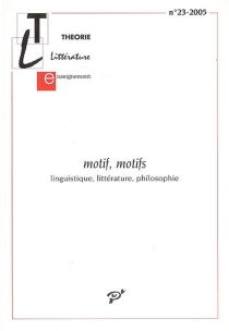 Théorie, littérature, enseignement, n° 23 -