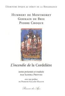 L'incendie de la Cordelière - PierreChoque
