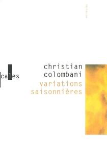 Variations saisonnières - ChristianColombani