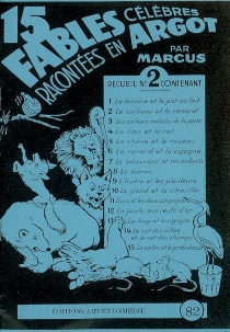 15 fables célèbres racontées en argot - Marcus
