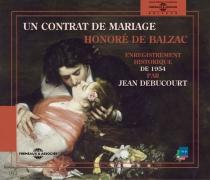 Un contrat de mariage - Honoré deBalzac