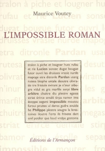 L'impossible roman - MauriceVoutey