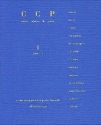 Cahier critique de poésie, n° 1 -