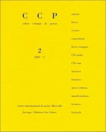 Cahier critique de poésie, n° 2 -
