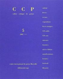 Cahier critique de poésie, n° 5 -
