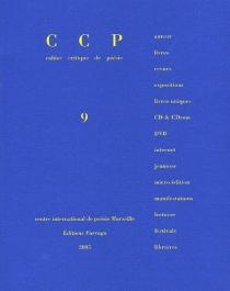 Cahier critique de poésie, n° 9 -