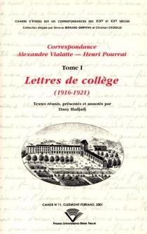 Correspondance Alexandre Vialatte-Henri Pourrat, 1916-1959 - AlexandreVialatte
