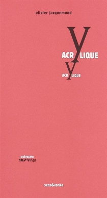 Acrylique - OlivierJacquemond