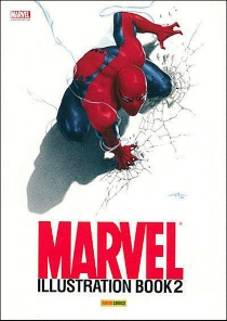 Marvel illustration book - Marvel comics