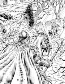Légende. 2, Ceux des forêts profondes : édition spéciale noir et blanc - YvesSwolfs