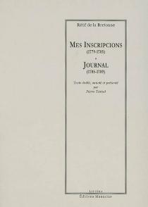 Journal - Nicolas-EdmeRétif de La Bretonne
