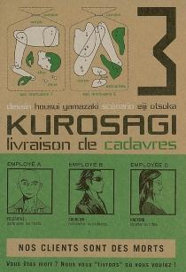 Kurosagi, livraison de cadavres - EijiOtsuka
