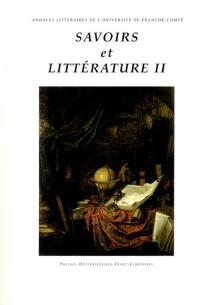 Savoirs et littérature 2 -