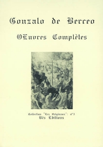 Obras completas  Oeuvres complètes - Gonzalo de Berceo