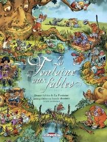 La Fontaine aux fables : douze fables de La Fontaine interprétées en bande dessinée -