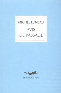 Avis de passage - MichelLuneau