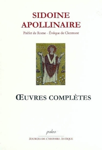Oeuvres complètes - Sidoine Apollinaire