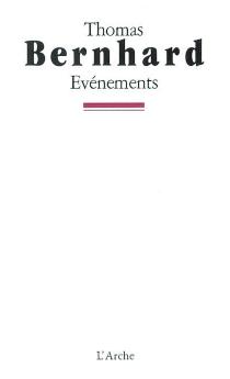 Evénements - ThomasBernhard