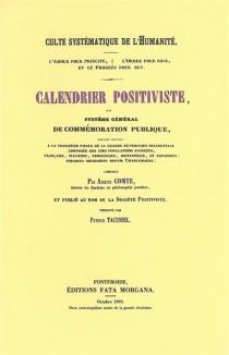 Calendrier positiviste - AugusteComte