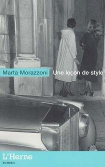 Une leçon de style - MartaMorazzoni