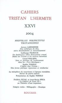 Cahiers Tristan L'Hermite, n° 26 -