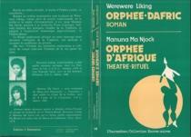 Orphée-Dafric (roman)| Orphée d'Afrique (Théâtre rituel) de Manuna Ma Njock - WerewereLiking