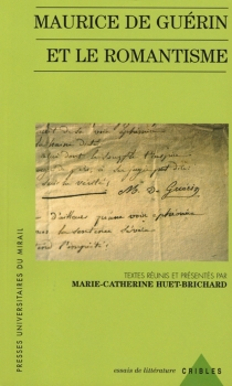 Maurice de Guérin et le romantisme -